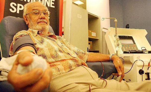 La especial sangre de James Harrison, ha Salvado a Más de 2 Millones de Bebes