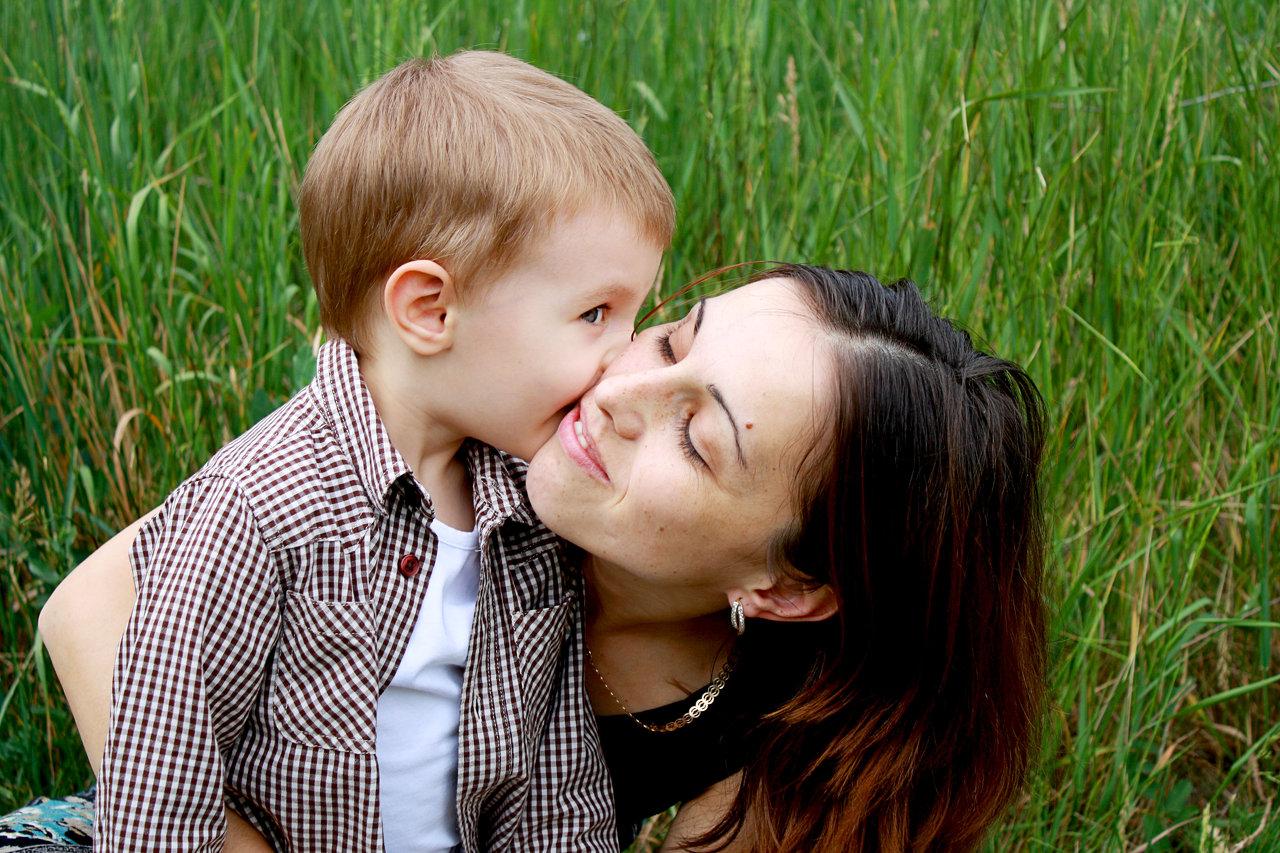 El corazón de una madre.