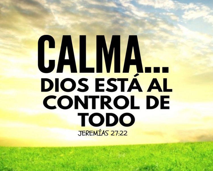 Dios en control